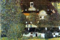 Густав Климт. Замок Каммер на озере Аттерзее  II