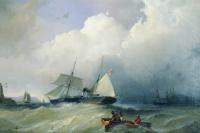 Alexey Petrovich Bogolyubov. Baltic Sea. 1880s