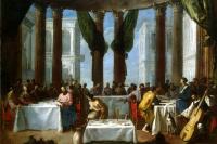 Иоганн Генрих Шёнфельд. Брак в Кане Галилейской
