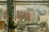 Юрий Иванович Пименов. Вид из окна, Москва