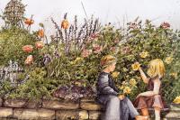 Екатерина Симпсон. Желтые розы