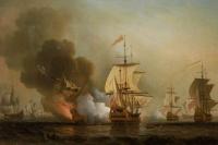Сэмюэль Скотт. Морская битва при Картахене 28 мая 1708 года