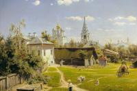 Василий Дмитриевич Поленов. Московский дворик