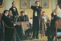 Мочалов среди своих почитателей. 1888