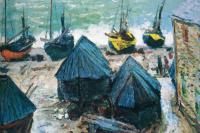 Клод Моне. Лодки на пляже в Этрета