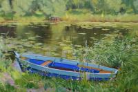 """The blue boat"" Pereslavl"