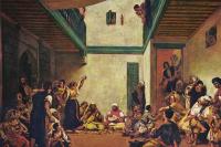 Эжен Делакруа. Еврейская свадьба в Марокко