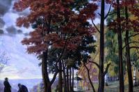 Осень (Над городом)