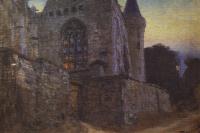 Abbey in Redon