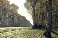 The road to Bas-Bro, Fontainebleau