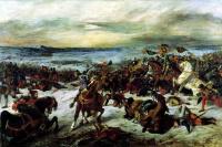 Гибель Карла Смелого в битве при Нанси 5 января 1477 года