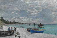 The beach at Sainte-Adresse