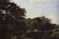 Фредерик Базиль. Лес в Фонтенбло