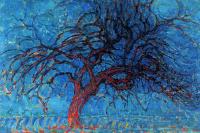 Piet Mondrian. Mahogany