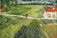 Landscape at Auvers after the Rain