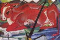Франц Марк. Вселенская корова