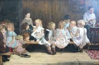 Макс Либерман. Детский сад в Амстердаме