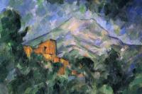 Поль Сезанн. Гора св. Виктории (Сент-Виктуар) и Чёрный замок