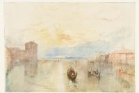 Венеция. Канал Джудекка, вид на Фусину на закате