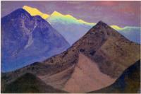 Николай Константинович Рерих. Тибет (Темные вершины. Вечер)