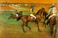 Эдгар Дега. Гонка лошадей