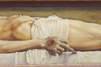 Ганс Гольбейн Младший. Мёртвый Христос в гробу