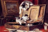 Генриетта Роннер-Книп. Коробка с красками