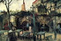 "Кафе под открытым небом ""Генгетт"" на Монмартре"