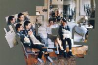 Джордж, Бланш, Селия, Альберт и Перси, Лондон, январь 1983