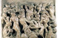 Микеланджело Буонарроти. Битва кентавров