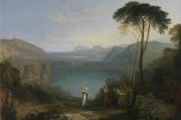 Авернское озеро. Эней и кумская сивилла