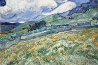 Винсент Ван Гог. Горный пейзаж позади больницы Святого Павла