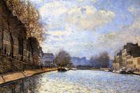 Вид канала Сен-Мартен