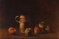 Винсент Ван Гог. Натюрморт с кружкой пива и фруктами