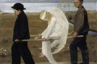 Уго Симберг. Раненый ангел