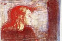 Edvard Munch. The sick child II