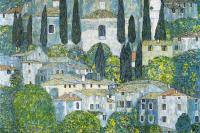 Густав Климт. Церковь в Кассоне