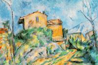 Поль Сезанн. Дом Марии с видом на замок Нуар