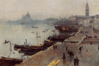 John Singer Sargent. Venice in the fog