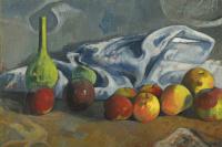 Поль Гоген. Натюрморт с яблоками
