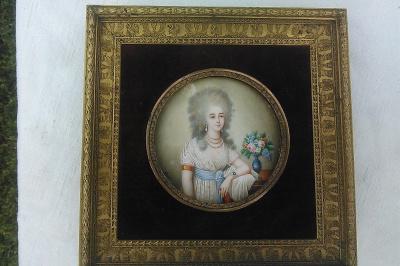 Неизвестный  художник. Портрет женщины