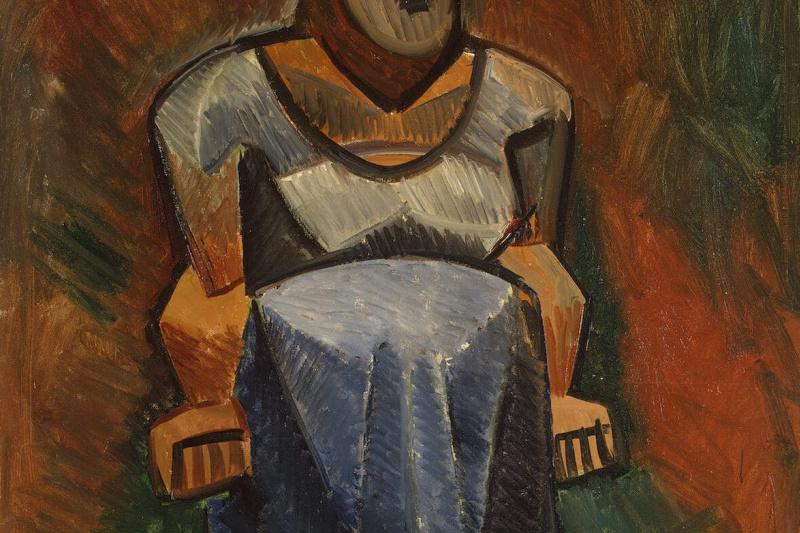 Пабло Пикассо. Фермерша