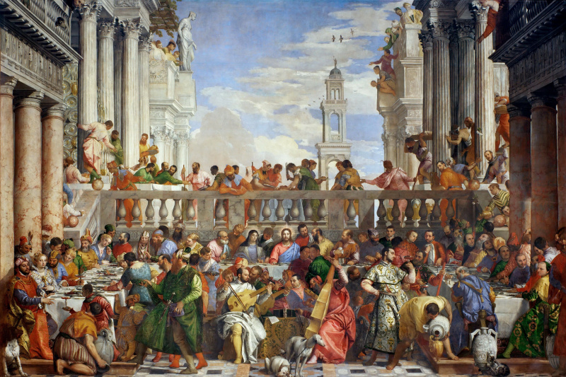 Paolo Veronese. Wedding in Cana of Galilee