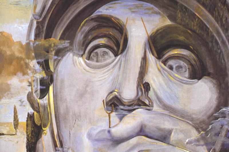 Salvador Dali. Warrior