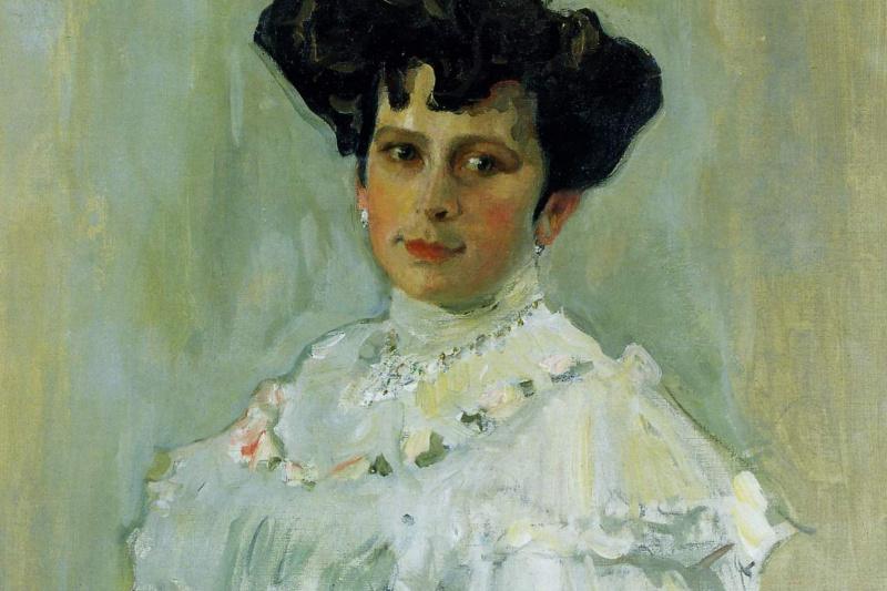 Valentin Aleksandrovich Serov. Portrait of EA Krasilshchikova