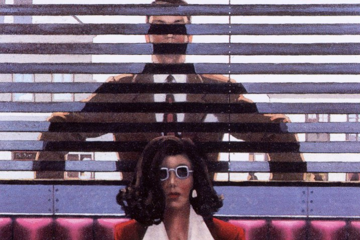 Jack Vettriano. There is always someone watching you