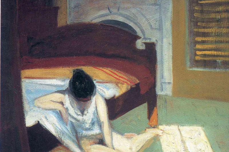 Edward Hopper. Interior summer