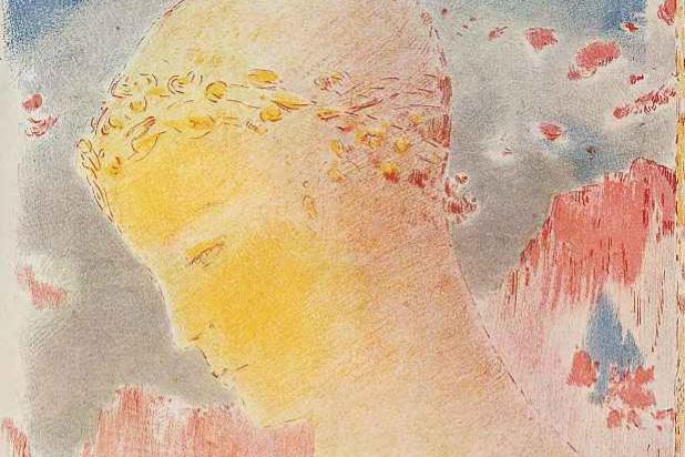 Odilon Redon. Beatrice