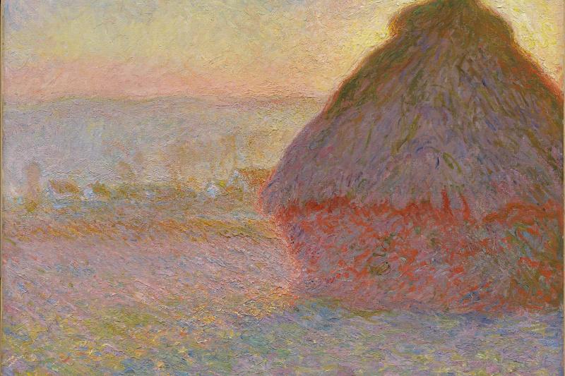 Claude Monet. Grainstack (Sunset)