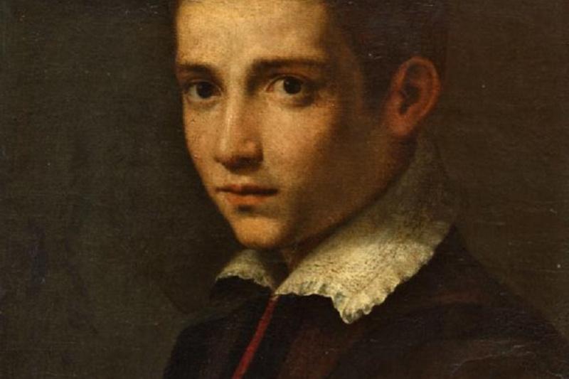 Cristofano Allori. Portrait of a boy